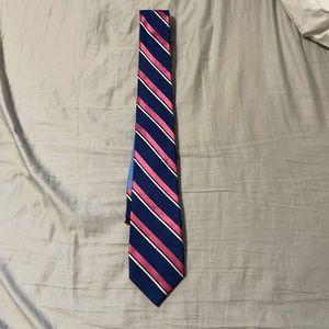 100% Silk Tommy Hilfiger Striped Tie